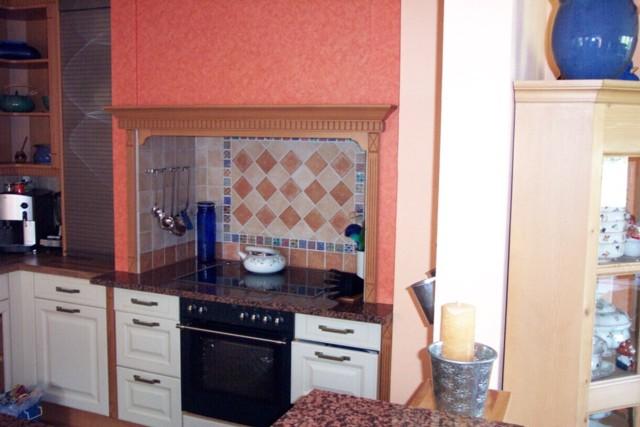 Fliesenspiegel k che mit bord re die neuesten - Fliesenspiegel landhauskuche ...